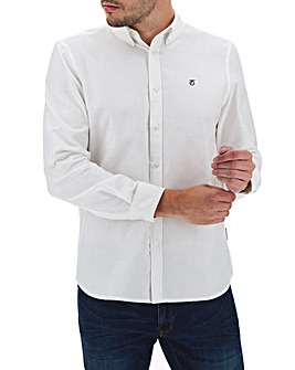 Peter Werth Long Sleeve Oxford Shirt L