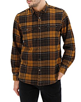 Joe Browns Brown Check Shirt Long