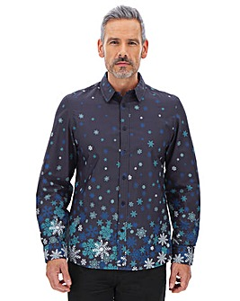 Joe Browns Snowflake Shirt Long
