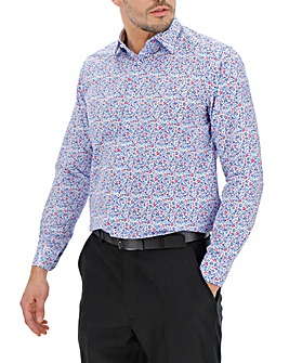 Double Two Floral Print Shirt