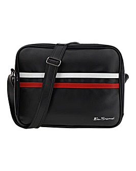 Ben Sherman Stripe Messenger Bag