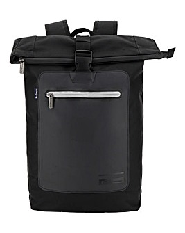 Ben Sherman Panel Roll Top Backpack