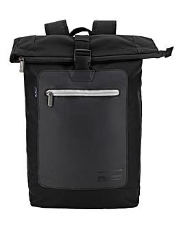 Ben Sherman Panel Roll Top Backpack