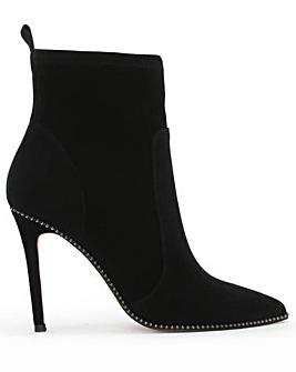 Daniel Belista Suede Studded Ankle Boots