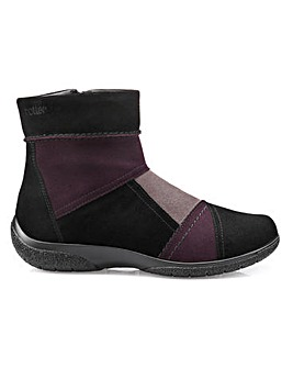 Hotter Patch Ladies Ankle Boot