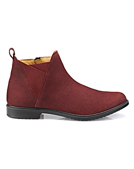 Hotter York Wide Fit Ankle Boot