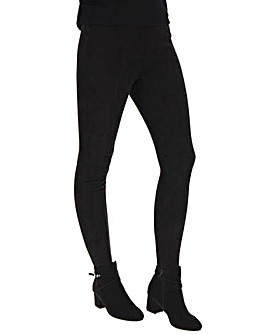 Suedette Stretch Leggings Regular