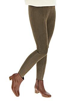Suedette Stretch Leggings Regular