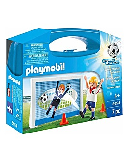 Playmobil Soccer Shoot Out Carry Case