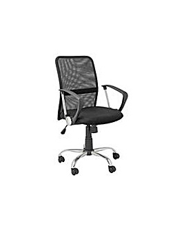 Gas Lift MidBack Adjustable Office Chair