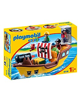 Playmobil 9118 123 Floating Pirate Ship