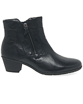 Gabor Selina Womens Leather Ankle Boots