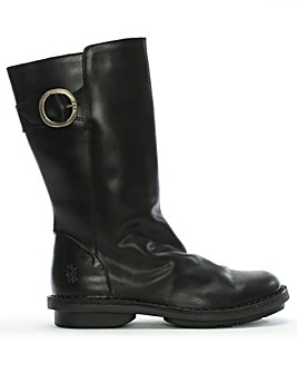 Fly London Folk Leather Calf Boots