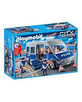 Playmobil Policemen with Van
