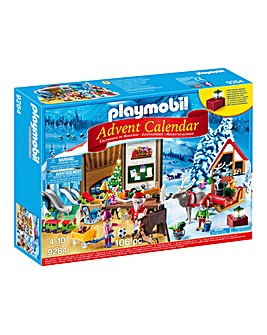 Playmobil Advent Calendar Santa Workshop