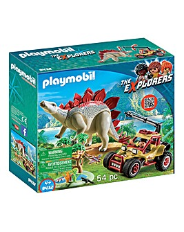 Playmobil Explorer Vehicle & Stegosaurus