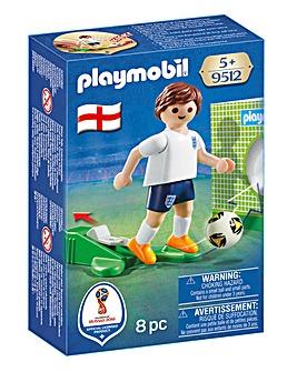 Playmobil Soccer Player England