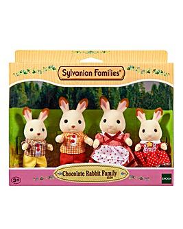 Sylvanian Families Choc Rabbit Family
