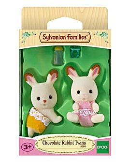 Sylvanian Families Choc Rabbit Twins