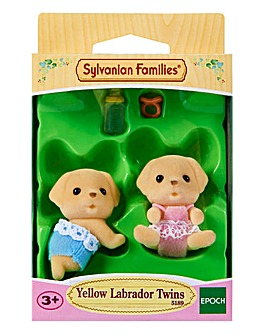 Sylvanian Families Yellow Lab Twins