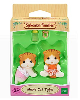 Sylvanian Families Maple Cat Twins