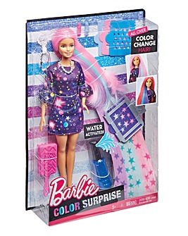 Barbie Colour Change Hair Doll