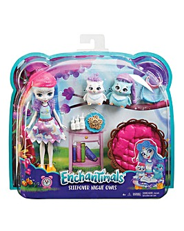 Enchantimals Owl Sleepover