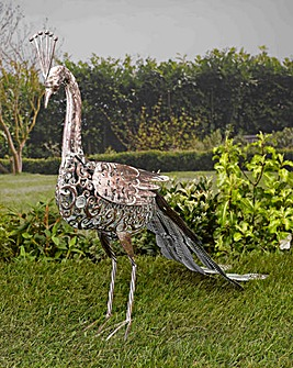 Smart Garden Silhouette Solar Peacock