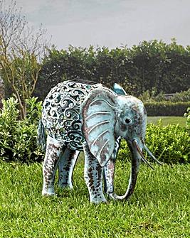 Smart Garden Silhouette Solar Elephant