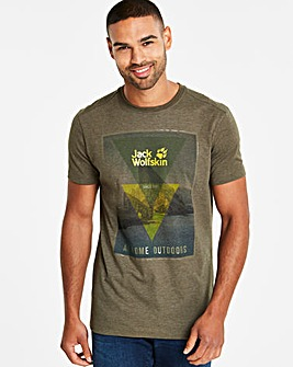 Jack Wolfskin Mountain T Shirt