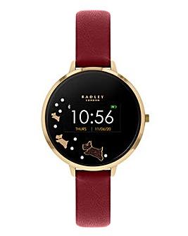 Radley Smart Watch Series 3 - Gold & Red