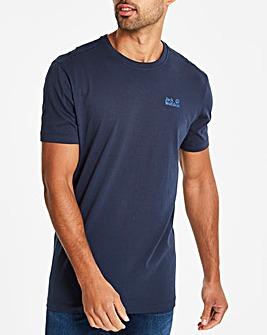 Jack Wolfskin Navy Essential T Shirt