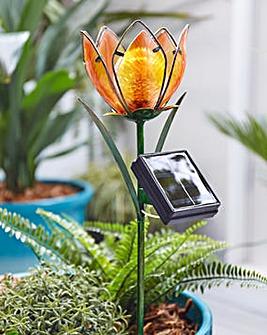 Woodland Flower Solar Stake Light