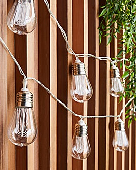 10 Edison Bulb Connectable String Lights