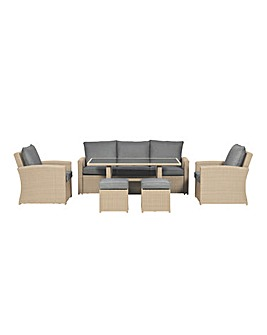 Lisbon Deluxe Sofa Dining Set