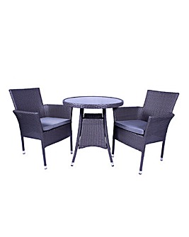 Maalga 2 Seater Stacking Bistro Set