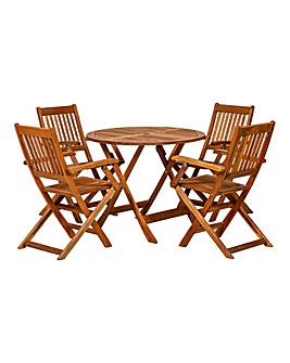 Manhattan 4 Seater Dining Set
