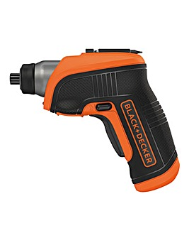 3.6V Lithium ion Screwdriver with Right Angle Attachment