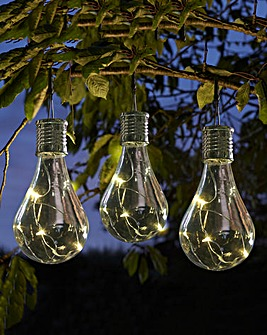 Smart Garden Set of 6 Hanging Lightbulbs