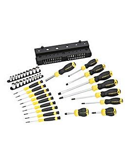 Stanley 57 Piece Screwdriver Set