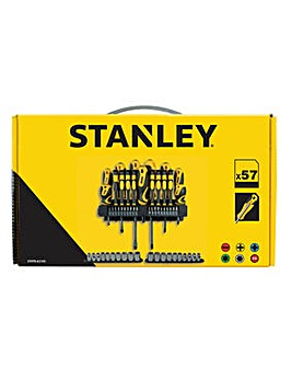 Stanley 57 Piece Screwdriver Set