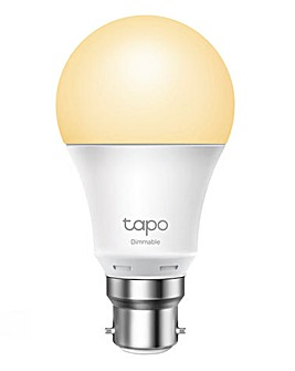 TP-Link Tapo Dimmable White Bulb B22