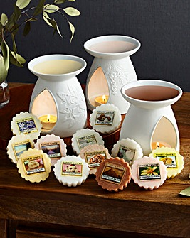 Yankee Candle Triple Melt Warmer Set