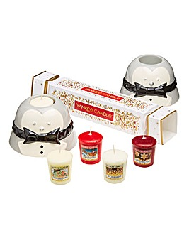 Yankee Candle Penguin Votives Set