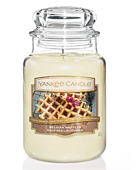 Yankee Candle Belgian Waffles Large Jar