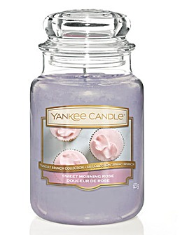 Yankee Candle Sweet Morning Rose Jar