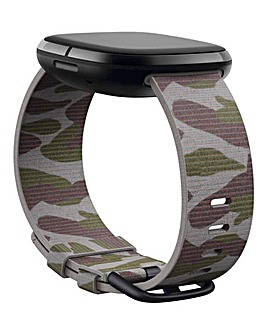 Fitbit Versa 3 + Sense Woven Band - Camo