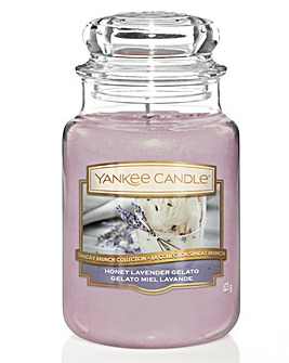 Yankee Candle Honey Lavender Gelato Jar