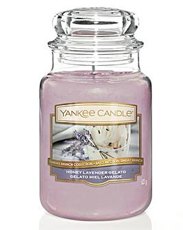 Yankee Candle Honey Lavender Gelato Jar