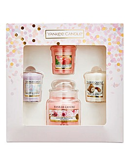 Yankee Candle Jar & Votives Gift Set